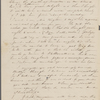 [Peabody], Elizabeth [Palmer, sister], ALS to. [1832?]
