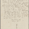 [Peabody], Elizabeth [Palmer, sister], ALS to. [1832 or 1833]