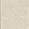 Peabody, Elizabeth P[almer, sister], ALS to. Feb. 5, 1833.