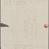 Peabody, Elizabeth [Palmer, sister], ALS to. [Jul.? 1833].