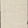 Peabody, Elizabeth P[almer, sister], ALS to. [1833?].