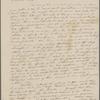 Peabody, Elizabeth P[almer, sister], ALS to. [n.m.] 11, 1835.