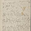 Peabody, Elizabeth P[almer, sister], ALS  to. Jul. 12, [1835].