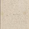 Peabody, Elizabeth P[almer, sister], ALS to. Oct. 15, [1835?].