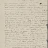 Peabody, Elizabeth P[almer, sister], ALS to. May 22, [1836].