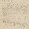 [Peabody, George Francis, brother], AL (incomplete) to. [summer 1836?].