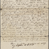 [Peabody, George Francis, brother], letter to. [1837]. Copy in unknown hand.