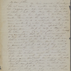Peabody, Nathaniel, father, ALS to. Feb. 5, 1851.