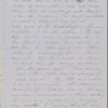 Peabody, N[athaniel], father, ALS to. Feb. 13, 1853.