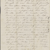 [Peabody, Nathaniel], father, ALS to. Feb. 20, 1853.
