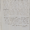 Peabody, Nathaniel, father, ALS to. May 8, 1853.