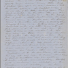 [Peabody, Nathaniel,] father, ALS to. Aug. 26, 1853.