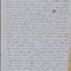 [Peabody, Nathaniel,] father, ALS (incomplete) to. Nov. 6-11, 1853.