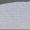 [Peabody, Nathaniel,] father, ALS to. [Nov.] 24, [1853?].