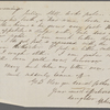 [Peabody, Nathaniel,] father, ALS (incomplete) to. [Dec. 1854?]