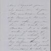 Ticknor, W[illiam] D., ALS to. Feb. 13. [n.y.].