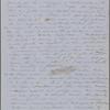 [unknown], Ellen, ALS to. [summer, 1854].