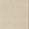 [unknown correspondent], AL (incomplete) to. [Jul. 1853]. Previously: [1853].