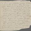[unknown correspondent], AL (fragment) to. [185-].