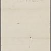 [unknown correspondent], ALS (incomplete) to. [1864?].