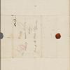 Channing, W[alter], ALS to SAPH. Nov. 17, 1828.