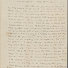 Channing, W[alter], ALS to SAPH. Aug. 22, 1842.
