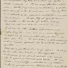 [Clarke, Sarah?], ALS to SAPH. Nov. 1832.