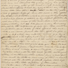 [Haven,] Lydia [G. Sears], ALS to SAPH. [May? 1828?].