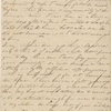 [Haven,] Lydia [G. Sears], ALS to SAPH. [1828].
