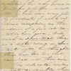 [Haven,] Lydia [G. Sears], ALS (incomplete) to SAPH. [182-?].