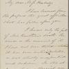 Haven, S[amuel] F[oster], ALS to Miss [Elizabeth Palmer] Peabody. Mar. 9, 1871.