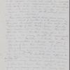 Peabody, Elizabeth P[almer, sister], AL to. Nov. 30, [1849].