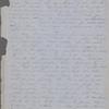 [Peabody,] Elizabeth [Palmer, sister], AL (incomplete) to. Aug. 22, [1850].