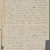 [Peabody,] Elizabeth [Palmer, sister], ALS to. Mar. 15, 1851.