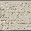 [Peabody,] Elizabeth [Palmer, sister], ALS to. Jul. [1851?].