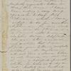 [Peabody,] Elizabeth [Palmer, sister?], ALS to. Oct. 2, 1851.