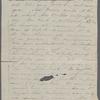 [Peabody, Elizabeth Palmer, sister], AL (incomplete) to. [1852?].