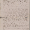 [Peabody,] Elizabeth [Palmer, sister], ALS to. Oct. 25, 1853.