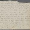 [Peabody, Elizabeth Palmer, sister?], AL (incomplete) to. [1853-59?].