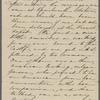 [Peabody,] Elizabeth [Palmer, sister], ALS  to. [1853-59?].