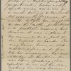 [Peabody,] Elizabeth [Palmer, sister], ALS  to. Jan. 22, 1854.