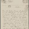 [Peabody,] Elizabeth [Palmer, sister], ALS  to. Nov. 14, 1854.