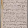 [Peabody,] Elizabeth [Palmer, sister], AL (incomplete)  to. Aug. [6?]- 7, [1856?].