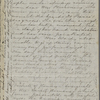 [Peabody,] Elizabeth [Palmer, sister], AL (incomplete)  to. Feb. 13, 1857.