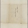 [Peabody, Elizabeth Palmer, sister?], ALS (incomplete) to. [1857?].