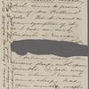 [Peabody,] Elizabeth [Palmer, sister], ALS to. Aug. 14, 1858.