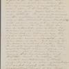 [Peabody], Elizabeth [Palmer, sister], ALS to. Mar. 21, 1859.