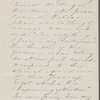 [Peabody], Elizabeth [Palmer, sister], AL (incomplete) to. Mar. 29 - Apr. 2, [1859?].