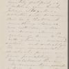 [Peabody], Elizabeth [Palmer, sister], AL (incomplete) to. [Apr.?] 24, [1859?].
