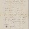 [Peabody], Elizabeth [Palmer, sister], ALS to. [1859?].